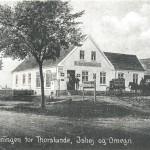 Thorslunde-Ishøj Købmandshandel omkring år 1900