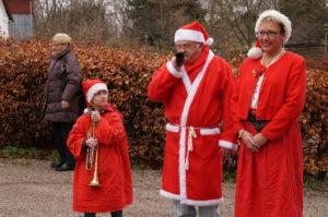 Julen blæses i gang på Bredekærgård